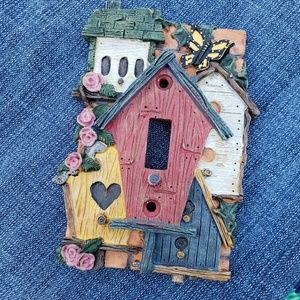 Other - 6/$25 Sale Birdhouses switch plate cover (H)